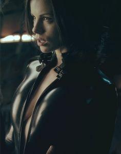 Kate Beckinsale - Underworld. Great dark series.