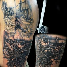 Kobane war revolution tattoo Tattoo artist  LEONI MARTINA