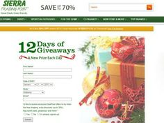 Sierra Trading Post 12 Days of Christmas Giveaway