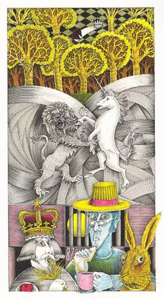 The Best Illustrations from 150 Years of Alice in Wonderland  John Vernon Lord