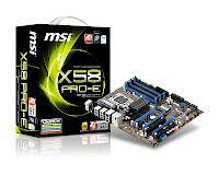 MSI X58 Pro-E USB3 Motherboard