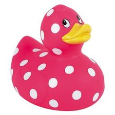 Polka Dot rubber duckie :)