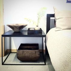 Tyne End Tables - Modern End Tables - Modern Living Room Furniture - Room & Board #ContemporaryLivingRoomFurniture Modern Living Room Table, Contemporary Living Room Furniture, Modern End Tables, Modern Furniture, Multifunctional Furniture, Living Room Decor Inspiration, Home Furnishing Stores, Furniture Styles, Furniture Ideas