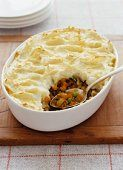 Monday's Leftovers: Shepherd's Pie.  I will Make a roast just so i can make this again.  yum!