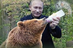 The President of Russia Vladimir Putin