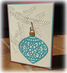 Delicate Ornament Branch by elliesmom - Cards and Paper Crafts at…