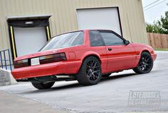 Ford Mustang Fox Body Notchback. oh I need these wheels for the crown vic