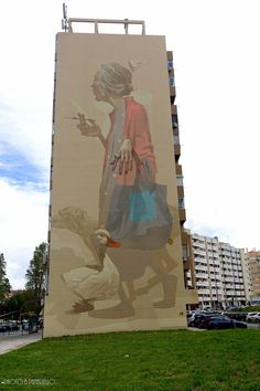 https://flic.kr/p/H8Wu1o | SAINER | Lisbonne In May 2016, you can find this wall here: benedicte59.wordpress.com/2016/05/17/mai-2016-street-art-...