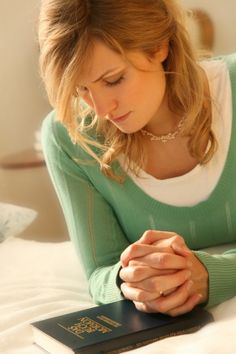 Pray when we study