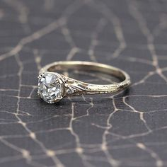 Reproduction Edwardian Engagement Ring. - 3367-02