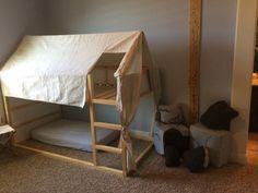 Kura tent bed. #Loftbed #kidsroom