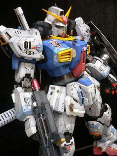 "Custom Build: PG 1/60 RX-178 Gundam Mk-II ""Enhanced"" - Gundam Kits Collection News and Reviews"