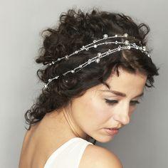 Silver Goddess Hair Wrap  $110