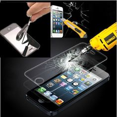 K, 0.26mm Gorilla Glass Tempered Screen Protector Film For iPhone 6