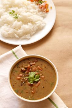 Dal Makhani Recipe with Step by Step Photos. This Dal Makhani recipe is the simplest and easiest version for making this recipe. Lentil Recipes, Curry Recipes, Veggie Recipes, Vegetarian Recipes, Healthy Recipes, Delicious Recipes, Chicken Recipes, Veg Recipes Of India, Indian Food Recipes