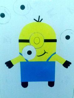 Pin the eye on the Minion game