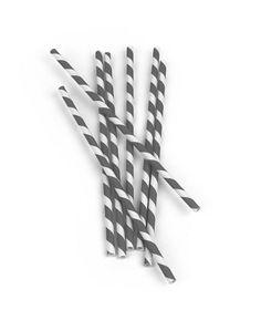 Kikkerland Rietjes Papier - Grijs Straws, Bobby Pins, Hair Accessories, Happy, Paper, Hairpin, Hair Accessory, Ser Feliz, Hair Pins