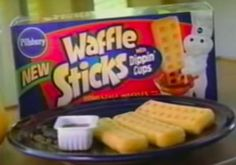 food What they tasted like: Literally just waffles, but being in fun, dippable form somehow made em better. 1990s Candy, Discontinued Food, 1990s Kids, Snack Recipes, Snacks, My Childhood Memories, Good Ole, The Good Old Days, Pop Tarts