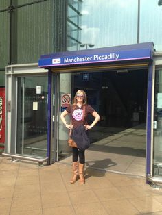 Bex in #Manchester #CaringCounts