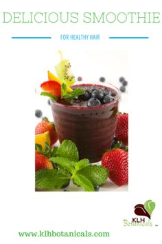 Here's A Smoothie Recipe for Healthy Hair Growth!