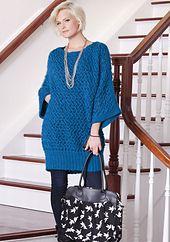 Ravelry: Tsu Shi Tunic pattern by Vickie Howell