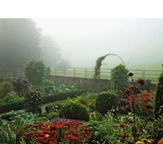 Stone ridge vegetable garden