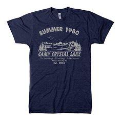 Summer 1980 Camp Crystal Lake T Shirt