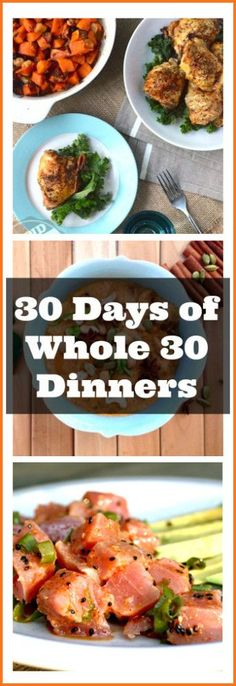 30 Days of Whole 30 Dinners from http://meatified.com #paleo #whole30 #glutenfree ___ More Recipes? Visit our site now!