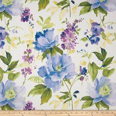 Covington Marianna Sateen Periwinkle Fabric