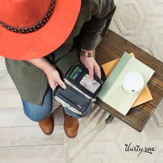 Our Thirty-One wallets are perfect to grab and go to the coffee shop for a study date!