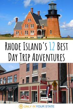 12 Unforgettable Rhode Island Day Trips, One For Each Month Of The Year Great Buildings And Structures, Modern Buildings, Modern Architecture, Best Bucket List, Spring Break Destinations, Dubai Skyscraper, Hidden Beach, Block Island, Beach Town