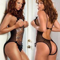 Women Sexy Lingerie Lace Underwear Open Bra Crotch See-through Sleepwear Nighty foreveryang http://www.amazon.com/dp/B00QET899K/ref=cm_sw_r_pi_dp_mSaOub0C2SWVN