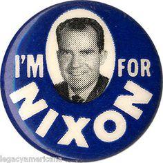1960-Campaign-I-039-M-FOR-Richard-NIXON-Picture-Button-1054