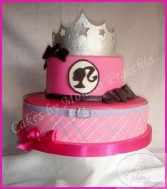 TORTA DECORADA BARBIE ESCUELA DE PRINCESAS | TORTAS CAKES BY MONICA FRACCHIA