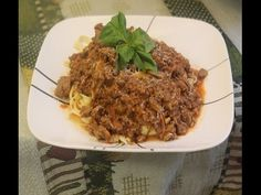 Authentic Italian Bolognese Sauce Recipe - http://quick.pw/202o #cooking #recipe #food