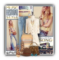 """""""Music Festival Style"""" by jgee67 ❤ liked on Polyvore featuring Free People, Retrò, CAbi, Charlotte Russe, Topshop, Yves Saint Laurent, Ancient Greek Sandals, rag & bone, Matthew Williamson and contestentry"""