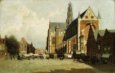 Haarlem, Jan Weissenbruch