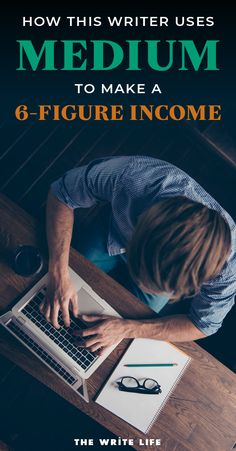Learn how this freelance writer uses writing on Medium to earn a six-fire income online. If you are looking to stay at home and start a freelancing business or if you just wanting earn extra cash, you can learn from writers who have successfully turned  their passion for writing into a successful career. Visit our website to grab your free Pitch Checklist and get the best freelance writing tips at thewritelife.com #freelancewriter #workfromhome #writing
