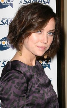 Best Short Haircut for Wavy Hair | 2013 Short Haircut for Women-like both the cut and color