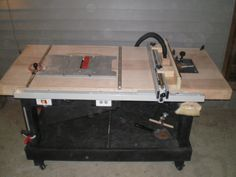 Table Saw? Router? or Work Bench? - by puzzled @ LumberJocks.com ~ woodworking community