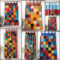 How to Choose Craft Stationary Paper Patchwork Curtains, Patchwork Bags, Cotton Curtains, Curtain For Door Window, Window Curtains, Window Coverings, Home Decor Items, Quilt Making, Windows And Doors