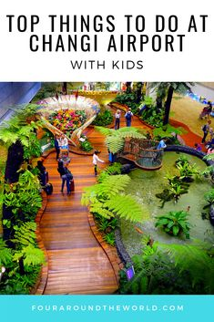 Top things to do at Changi Airport with kids - Singapore Airport is a popular stopover destination for international travel so luckily the airport is loaded with fun things to do when filling in time between flights! Singapore Things To Do, Singapore With Kids, Singapore Guide, Singapore Travel Tips, Holiday In Singapore, Singapore Itinerary, Visit Singapore, Singapore Trip, Singapore Sling