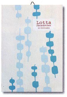 Lotta Jansdotter: 30 Postcards (Wooden) by Lotta Jansdotter https://www.amazon.com/dp/0811840956/ref=cm_sw_r_pi_dp_x_u.u.ybRSBA89N