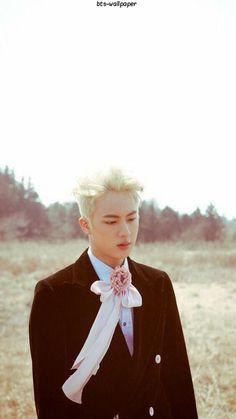 Eu amo muito esse conceito,essa cor de cabelo... Eu amo muito seokjin