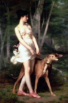 Le Prince Lointain: Gaston Casimir Saint-Pierre (1833-1916), Diane Chasseresse.