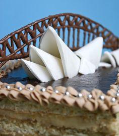 sydney opera cake - baking humor, got to love it