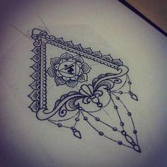 Dotwork design