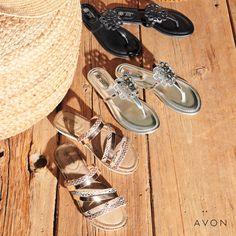 St Louis, Pomade Shop, Avon Fashion, Avon Online, Shops, Avon Representative, Comfortable Sandals, Stylish Sandals, Beach Wear