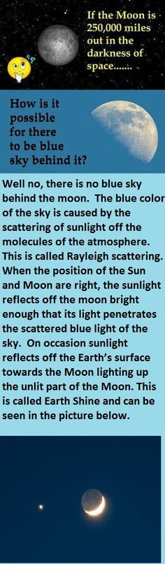 The Moon is not within the Earth's atmosphere.  http://hyperphysics.phy-astr.gsu.edu/hbase/atmos/blusky.html  #FlatEarth #Follow