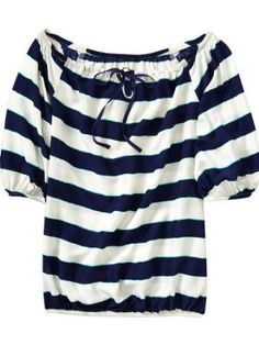 Old Navy Womens Off Shoulder Chiffon Blouses,